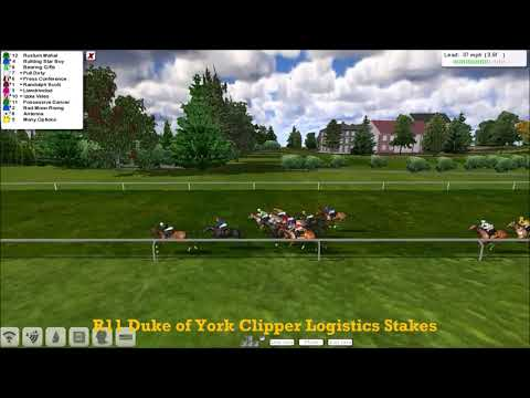 FR WK4 R11 Duke of York Clipper Logistics Stakes