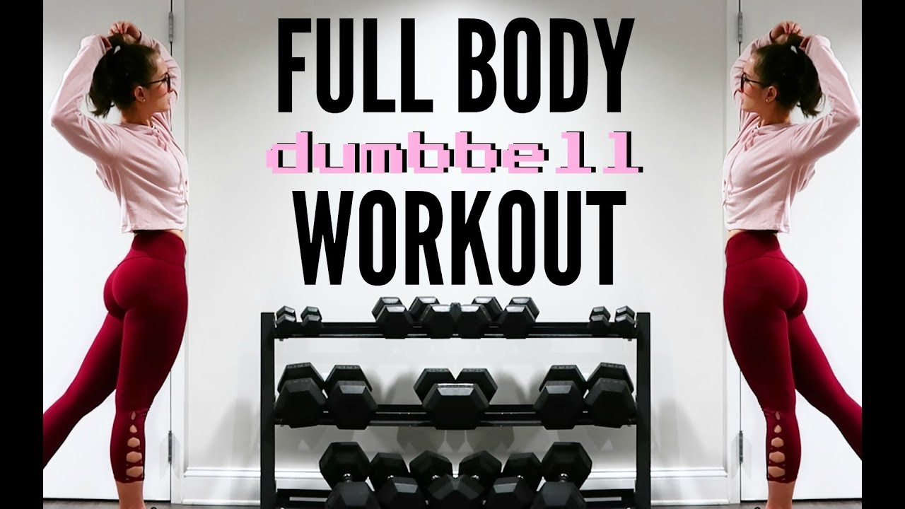 FULL BODY DUMBBELL WORKOUT | Simple & Effective