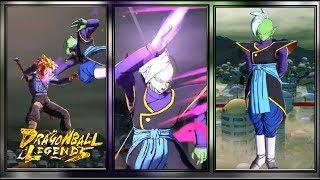 ZAMASU IN-GAME PREVIEW   Dragon Ball Legends