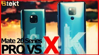 Huawei Flagship Comparison | Mate 20 Pro vs Mate 20 X