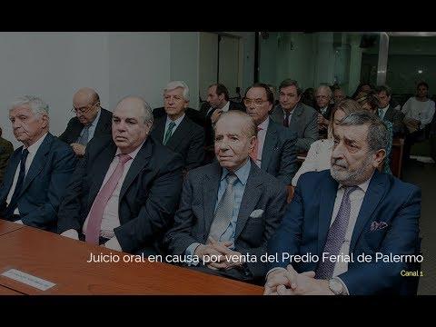 Juicio oral en causa por venta del Predio Ferial de Palermo