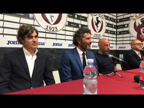 La presentazione ufficiale di mister Alessandro Dal Canto