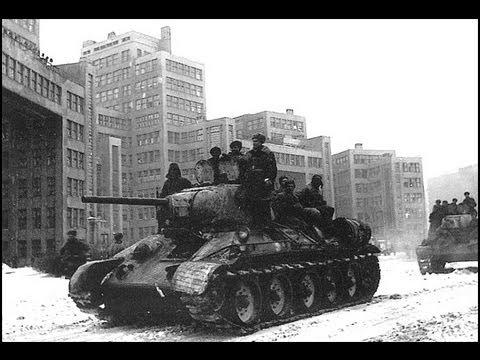 Неудачное освобождение Харькова. Февраль-март 1943. Хроники. Robinzon.TV