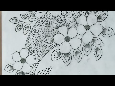How To Draw Textile Design | Jana Art Live
