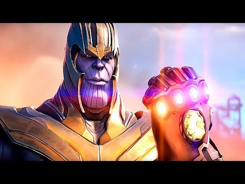Thanos Gets 61 Kills On LAPTOP - Fortnite Avengers LTM | Season 8 Game Play (No Commentary)