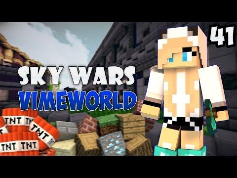 Minecraft Sky Wars #41|МОТЫГА ТАЩИТ!(VimeWorld)