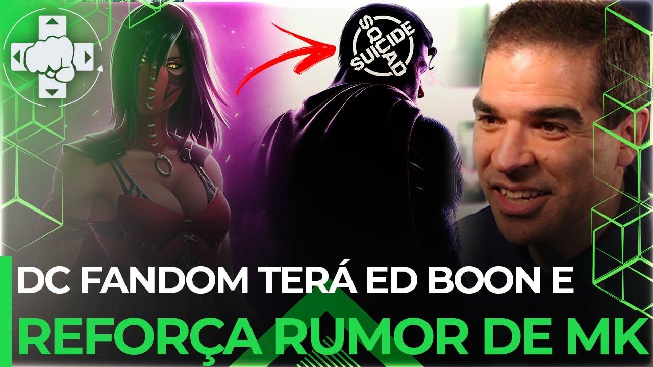 ED BOON NO DC FANDOME E KOMBAT PACK GANHA FORÇA DEVIDO AO SUICIDE SQUAD - MORTAL KOMBAT 11