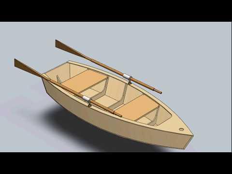 как сделать лодку из фанеры своими руками чертежи