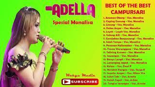 Gambar cover BEST OF THE BEST Album Campursarinya Om Adella Gayeng Pak Dheee
