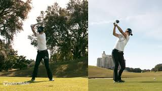 S.H Park's Powerful Golf Swing   TaylorMade Golf Europe