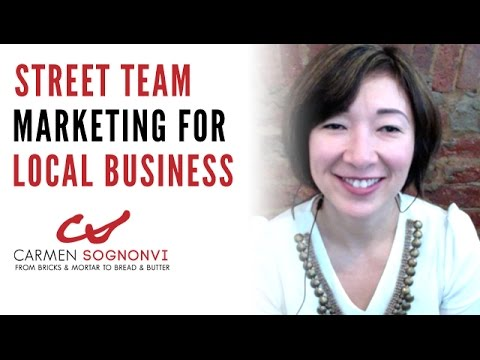 Street Team Marketing for Local Business | Carmen Sognonvi