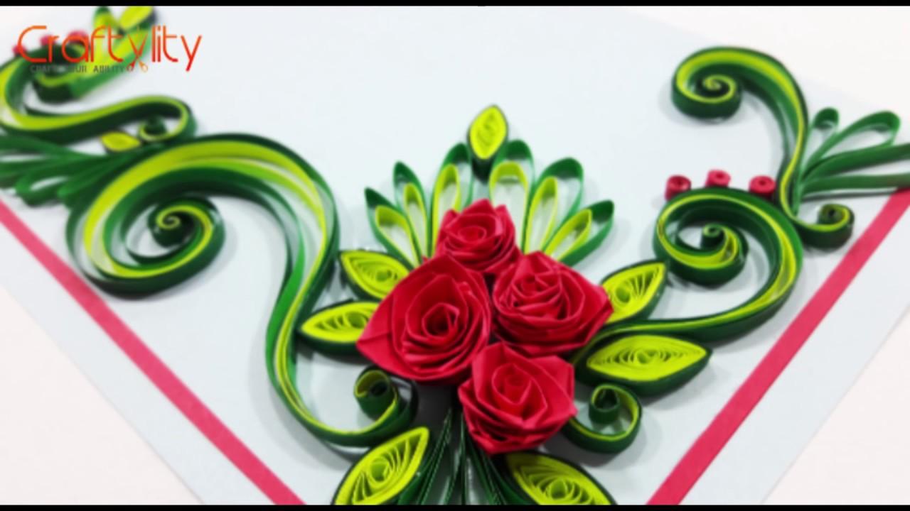 paper quilling flower arrangements
