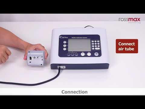 CalPro |  Static Pressure - Rossmax Wrist Blood Pressure Monitor