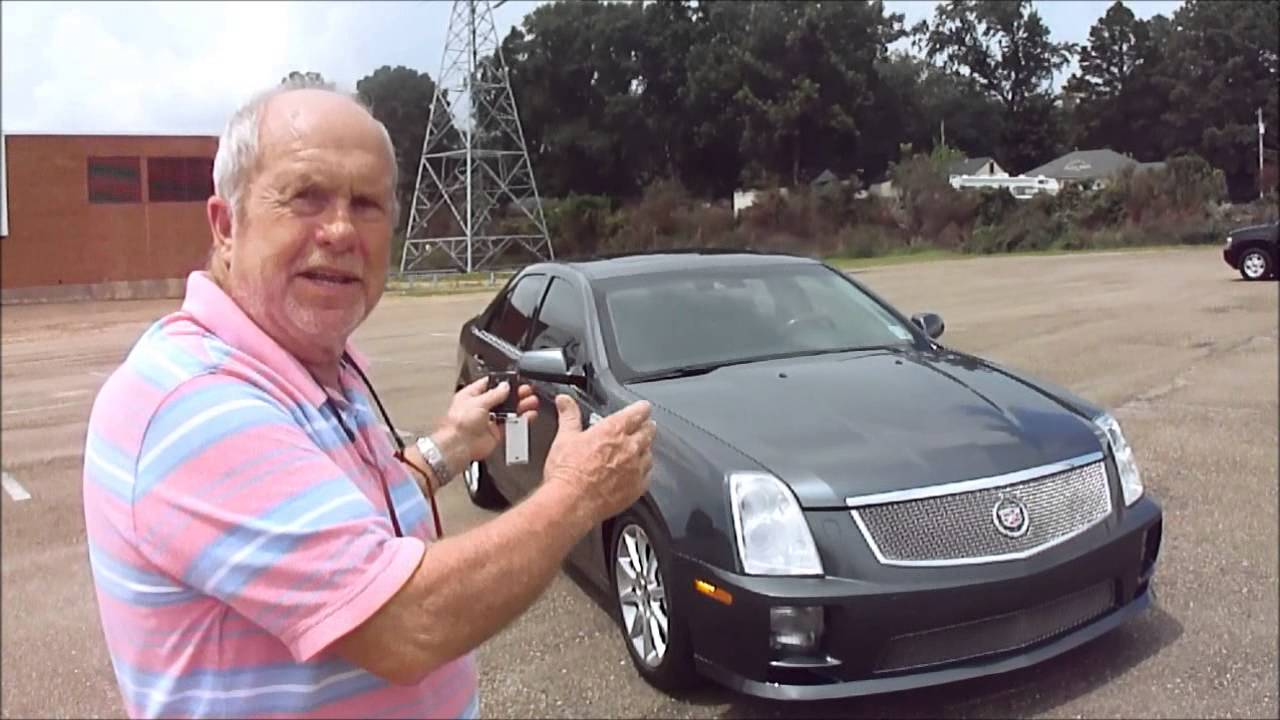 2008 Cadillac Sts V Test Drive Youtube