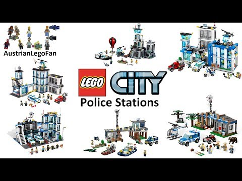 All Lego City Police Stations 2011 - 2017 - Lego Speed Build Review