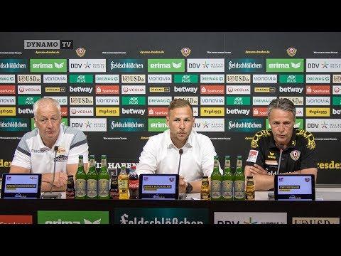 34. Spieltag | SGD - FCU | Pressekonferenz nach dem Spiel