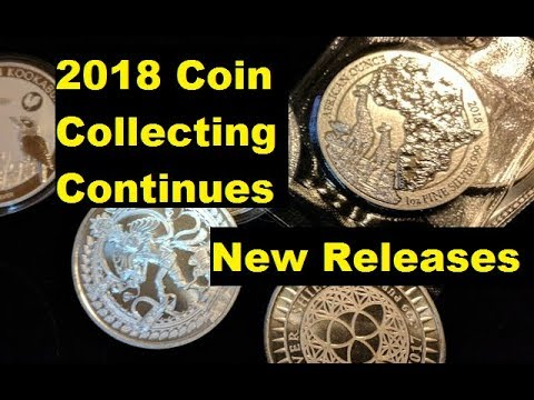 2018 Silver Stacking Continues with latest releases.  Stacking, coin collecting, it's all good!