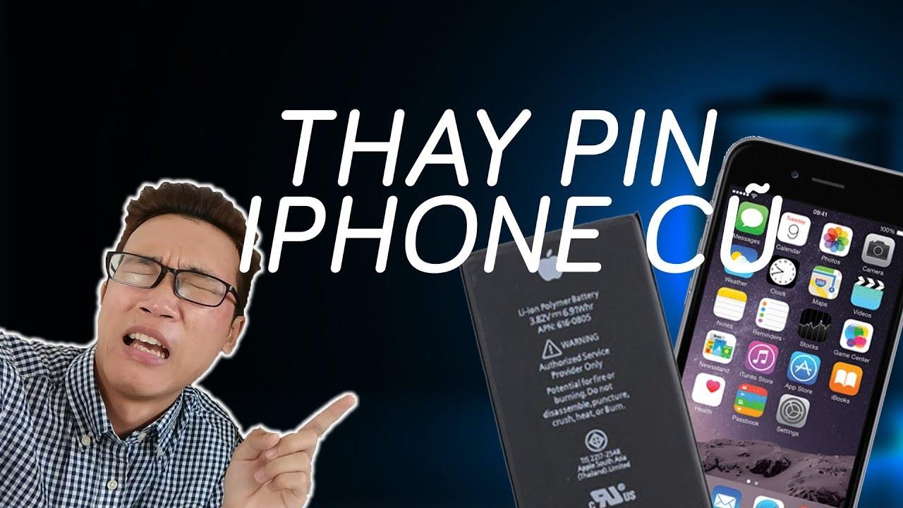 Đi thay pin iPhone và cái kết!!!