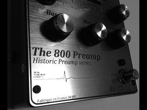 Fredamp The 800 Preamp