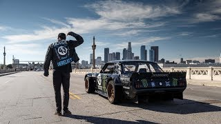 KEN BLOCK'S (drift) - WILD IN THE STREETS OF LOS ANGELES (2014)