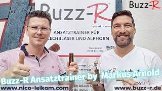 Buzz-R Ansatztrainer mit Markus Arnold, dem Erfinder des Buzz-R | Lippmaster | Tipps und Tricks 🎺