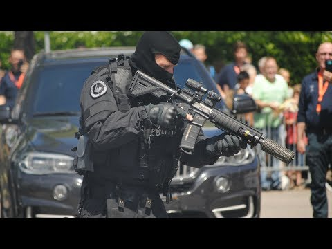 Arrestatieteam (DSI) schiet op verdachten tijdens demonstratie!