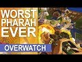 WORST PHARAH EVER!? Blizzard World Funny Moments, Gameplay Highlights & Trolls! BY VKAY (WBE)