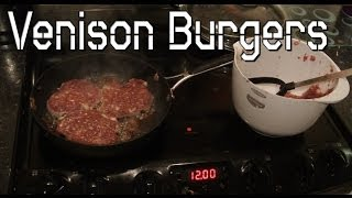Making Venison Burgers And Talking About Stuff.