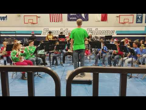 Frankford Middle School Symphonic Band 2017-2018 Let it Snow
