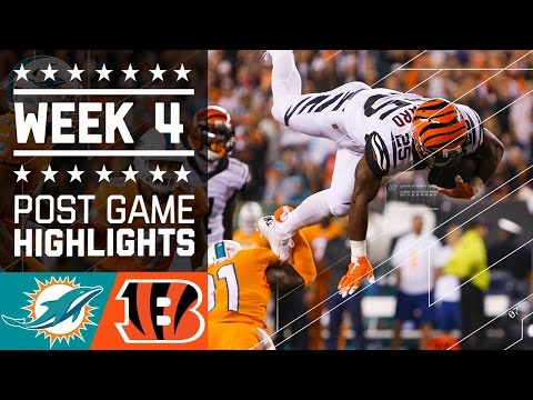 Dolphins vs. Bengals | NFL Week 4 Game Highlights