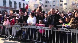 Christmas celebrations in Bethlehem