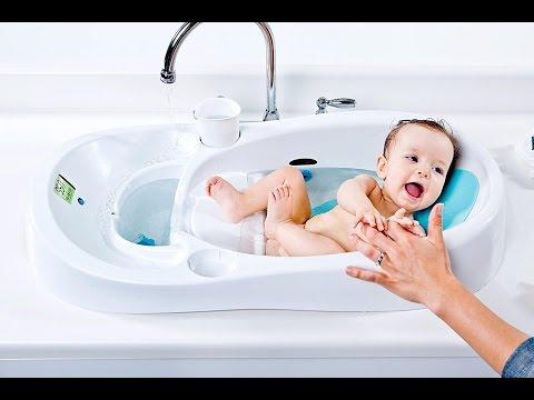 Автоматизированная Детская ванночка для купания 4Moms Infant Tub: Для современных мам