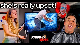 I Smashed My $6,000 TV And Pissed Off My Girl   Steve-O