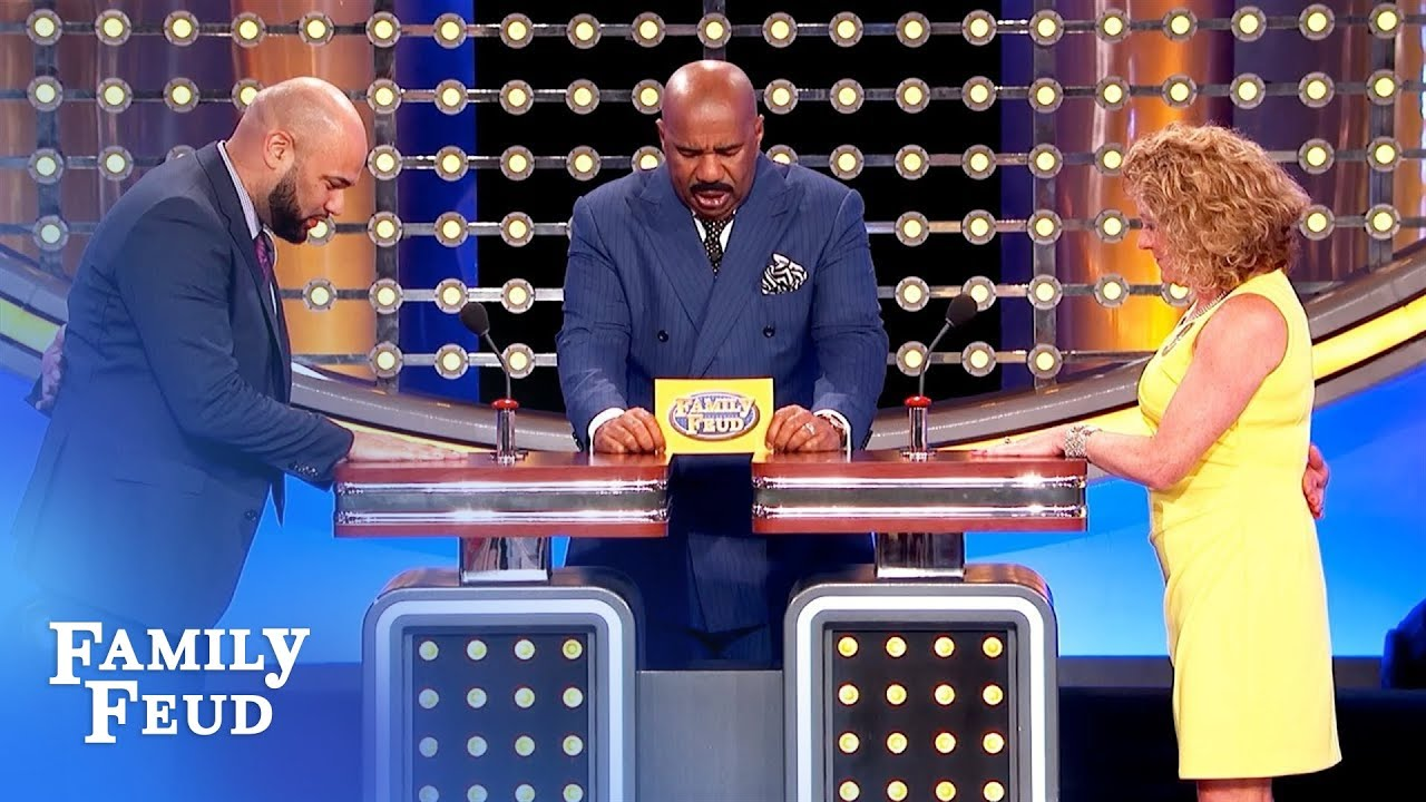 Steve Harvey's playing STRIP POKER! | Family Feud
