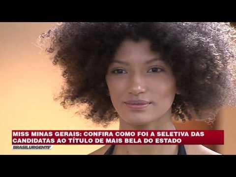 BRASIL URGENTE MINAS 03/07/2017 - MISS MINAS GERAIS