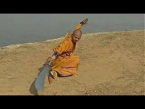 Shaolin kung fu big saber
