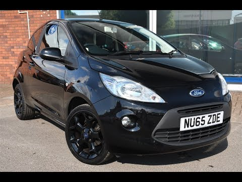 Used Ford Ka   Zetec Black Edition Dr Black