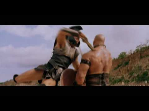 Achilles vs Boagrius from TROY with Brad Pitt Excellent Quality