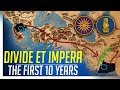 The First 10 Years Divide Et Impera Macedon V India Cinematic Gameplay mp3