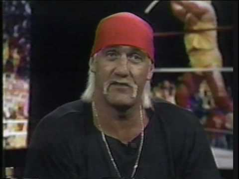 Hulk Hogan WM8 work interview