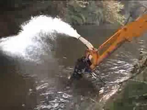 DOA SP65 TRASH WATER PUMP RIVER
