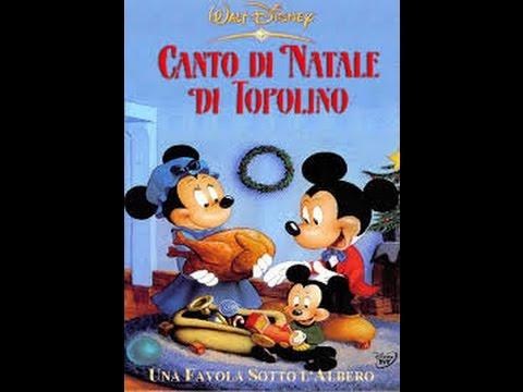 Il canto di natale di topolino italiano cartoni animati youtube