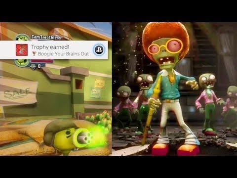 """Plants vs Zombies Garden Warfare - """"BOOGIE YOUR BRAINS OUT"""" Achievement Guide Disco Zombie"""