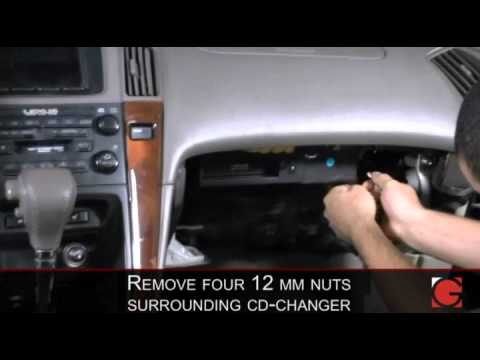 grom-usb3: lexus rx 300 1999 - 2002 ipod iphone usb android interface  adapter installation - youtube