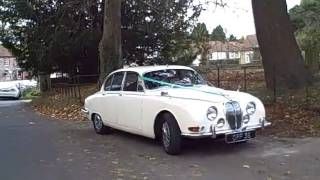 1967 Morse Jaguar 'S' type mk2 Wedding Car Hire
