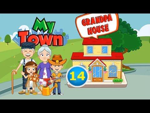Мой Город - My town - #14 Дедушка и Бабушка - Grandparents. Детское видео, игра как мультик.