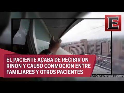 Paramédico impide suicidio en Hospital La Raza