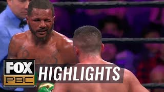 Anthony Dirrell vs Avni Yildirim: All the punches, head butts & confusion | HIGHLIGHTS | PBC ON FOX