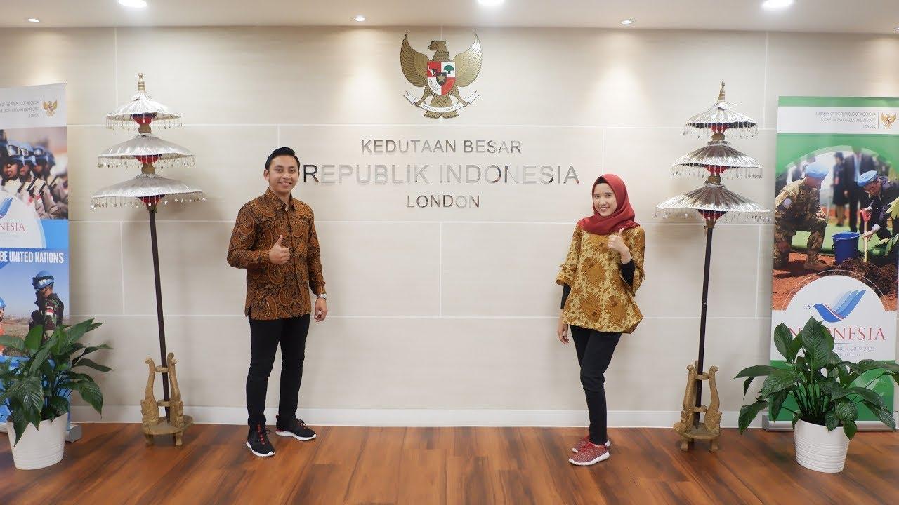 Berkunjung Ke Indonesian Embassy London United Kingdom Youtube