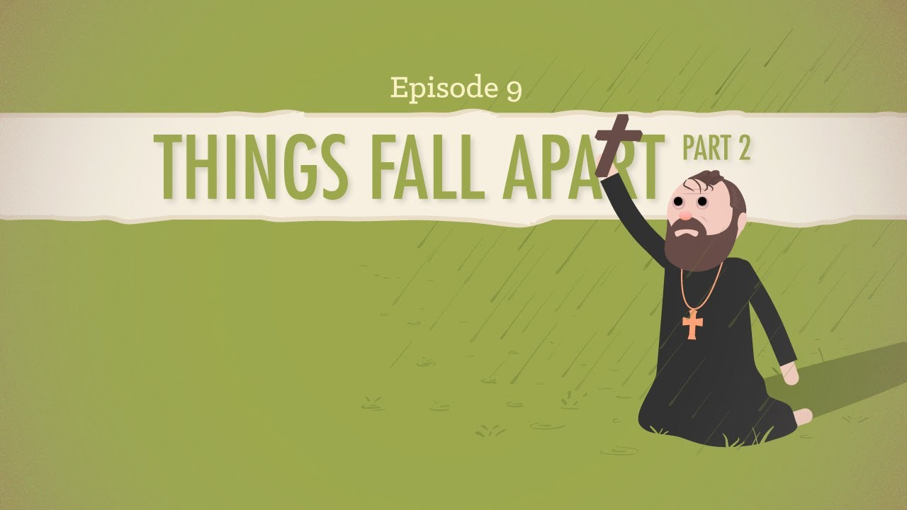 things fall apart      crash course literature   youtube